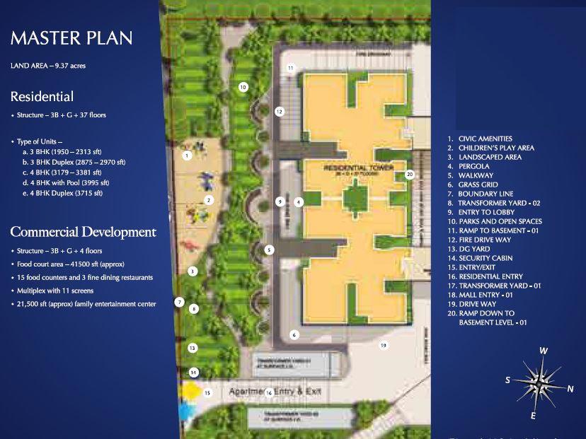 Sobha Indraprastha Master Plan