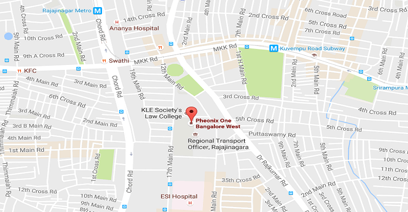 Phoenix One Bangalore west Location Map
