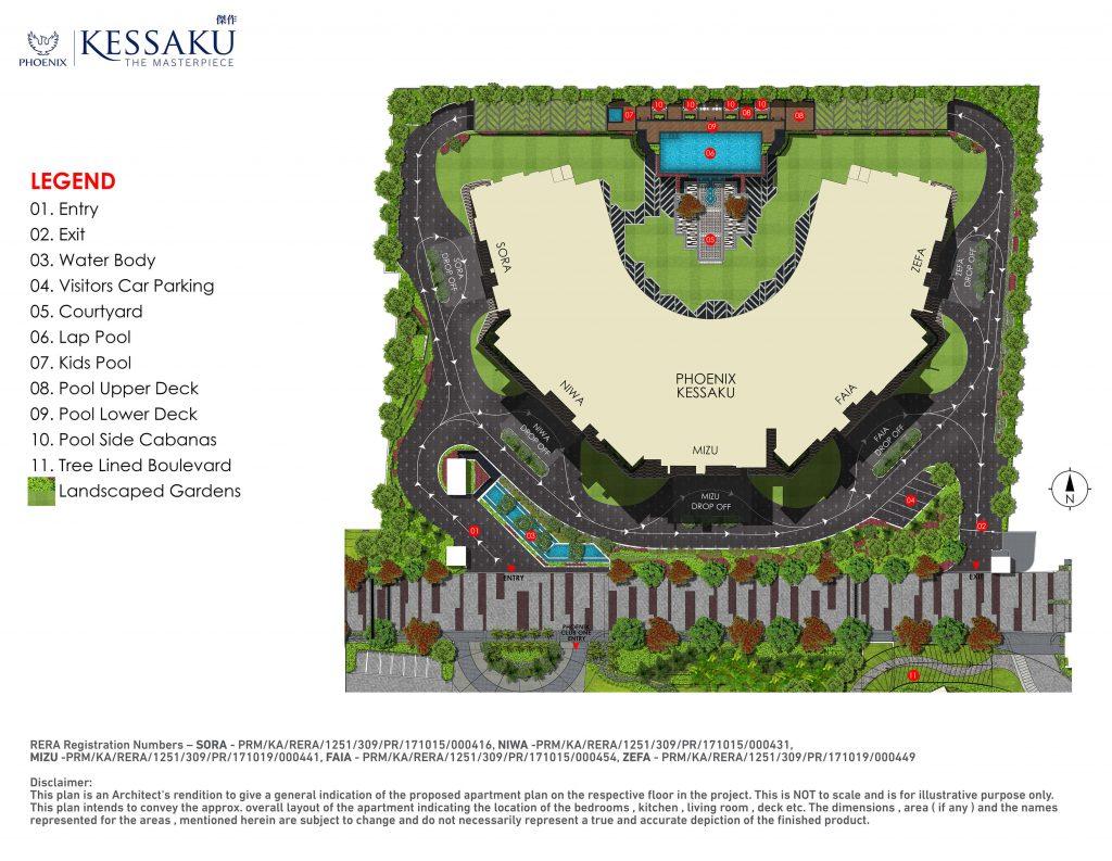 Phoenix Kessaku Master Plan