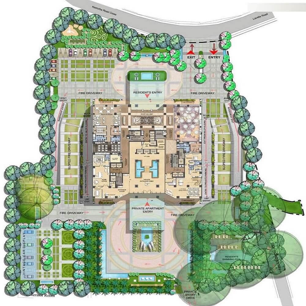 Kingfisher Tower Master Plan
